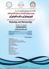 پوستر بیست و چهارمین کنگره ملی و سومین کنگره بین المللی فیزیولوژی و فارماکولوژی ایران