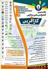 پوستر نخستین کنفرانس ملی مدارس کارآفرین(رویکردها،نظریه ها،ابعاد و تجارت کاربردی از کشورهای موفق)