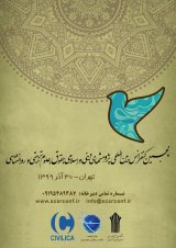 پوستر پنجمین کنفرانس بین المللی پژوهشهای دینی و اسلامی، حقوق، علوم تربیتی و روانشناسی