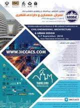 پوستر سومین کنفرانس بین المللی عمران ، معماری و طراحی شهری