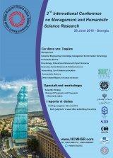 پوستر سومین همایش بین المللی پژوهش های مدیریت و علوم انسانی