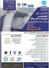 پوستر کنفرانس ملی الگوهای نوین در مدیریت و کسب و کار با رویکرد حمایت از کارآفرینان ملی