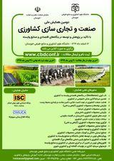 پوستر دومین همایش ملی صنعت و تجاری سازی کشاورزی