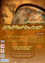 پوستر ششمین کنفرانس بین المللی علوم سیاسی،روابط بین الملل و تحول