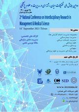 پوستر دومین همایش ملی تحقیقات میان رشته ای در مدیریت و علوم پزشکی