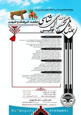 پوستر اولین همایش ملی بختیاری شناسی (جامعه، فرهنگ و طبیعت)