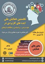 پوستر نخستین همایش ملی ایده های کاربردی در علوم تربیتی، روانشناسی و مطالعات فرهنگی
