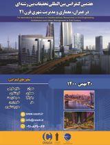 پوستر هفتمین کنفرانس بین المللی تحقیقات بین رشته ای در عمران، معماری و مدیریت شهری قرن ۲۱