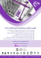 پوستر چهارمین کنفرانس بین المللی مدلسازی اطلاعات ساخت (BIM)