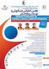 پوستر دومین کنفرانس ملی آموزش و توسعه سرمایه انسانی