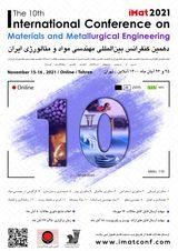 پوستر دهمین کنفرانس بین المللی مهندسی مواد و متالورژی (iMat۲۰۲۱)