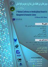 پوستر سومین همایش ملی تحقیقات میان رشته ای در مدیریت و علوم انسانی